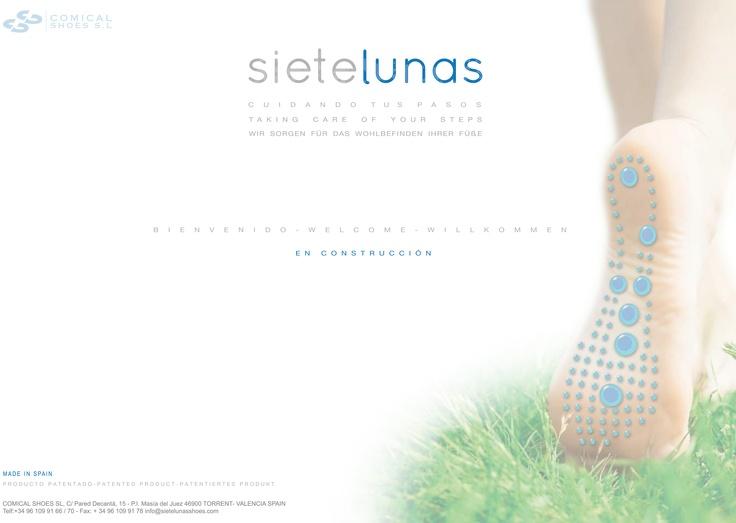 Siete Lunas - Reflexoterapia. Sistema de Reflexología y magnetoterapia aplicada al calzado. Calzado saludable, confort, relax, plantillas imantadas, sistema de calzado