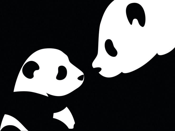 images, fonds d'écran de dessin de panda, vecteur, fond noir                                                                                                                                                     Plus