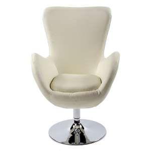 Een echte klassieke mooie witte Kokoon directeur-stoel.Deze stoel straal echt klasse uit.