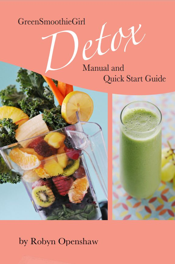 I complete the Green Smoothie Girl 26 Day Detox in the Spring and in the Fall this year.  I  inspire 100 new GSG followers to complete a detox this year.