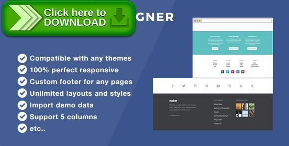 [ThemeForest]Free nulled download Footer Designer - Footer plugin for Wordpress from http://zippyfile.download/f.php?id=44045 Tags: ecommerce, custom footer, edit footer with visual composer, edit the footer wordpress, footer plugin wordpress, footer visual composer, free layout footer plugin, mega footer visual composer, page builder footer, reveal footer, slide up footer, sticky footer, sticky footer plugin, visual composer footer, woocommerce footer, wordpress footer