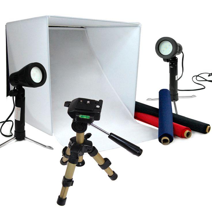 Softbox Light Box Cube Photography Lighting Photo Studio Box Tripod Light Kit Ebay Photog Light Photography Photography Tent Lighting