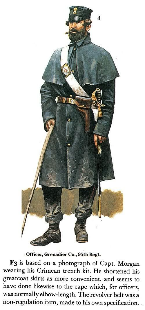Officer, Grenadier company, 95th Regiment The British Army On Campaign 1816-1902 (2): The Crimea, 1854-1856) -