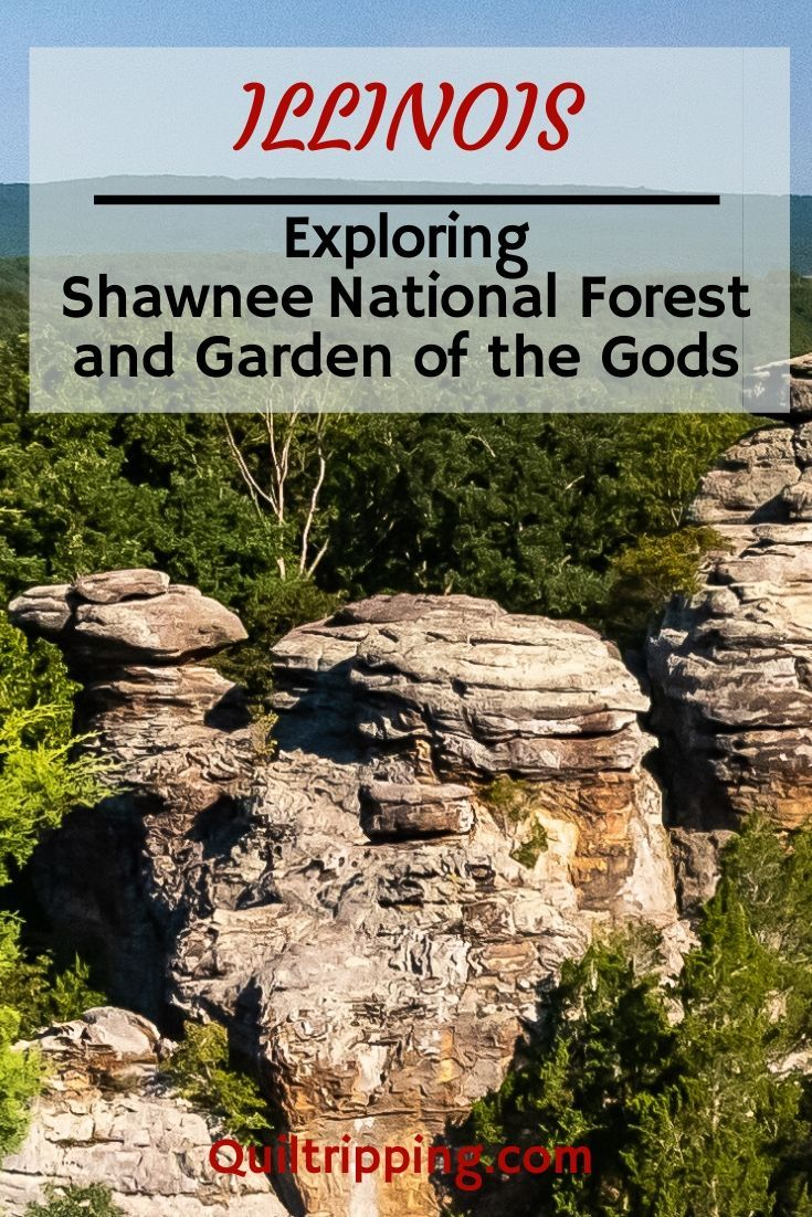 There S A Little Bit Of Paradise In The Garden Of The Gods Illinois Quiltripping Shawnee National Forest Illinois Travel Allegheny National Forest