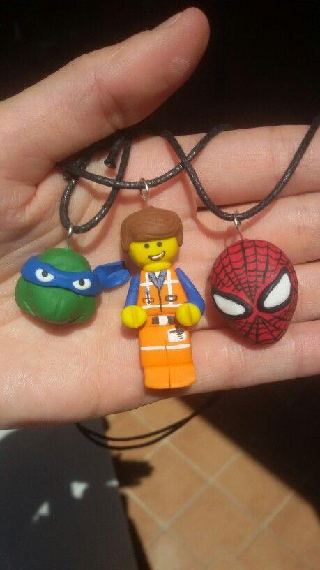 Tartarughe ninja - lego movie-spiderman