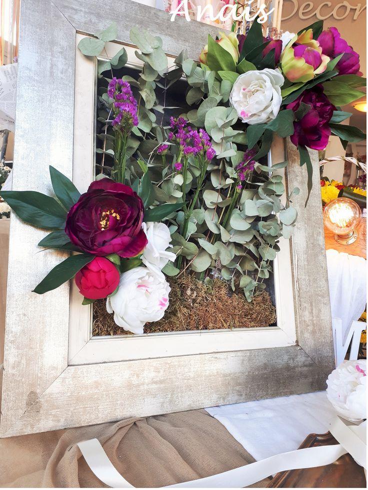 #Frame_flower_wedding_decor #πίνακας_λουλούδια #διακόσμηση_γάμου