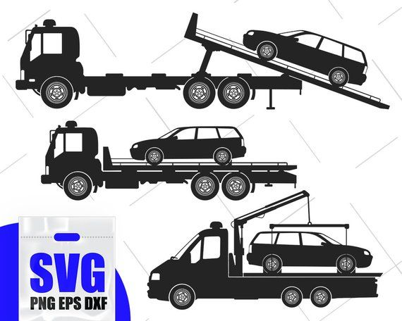 Tow Truck Svg Tow Truck Svg Bundle Tow Truck Clipart Tow Truck Vector Silhouette Files For Print Towing Tow Truck Vinyl Decals
