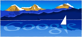 Google Doodle: Swiss National Day 2010