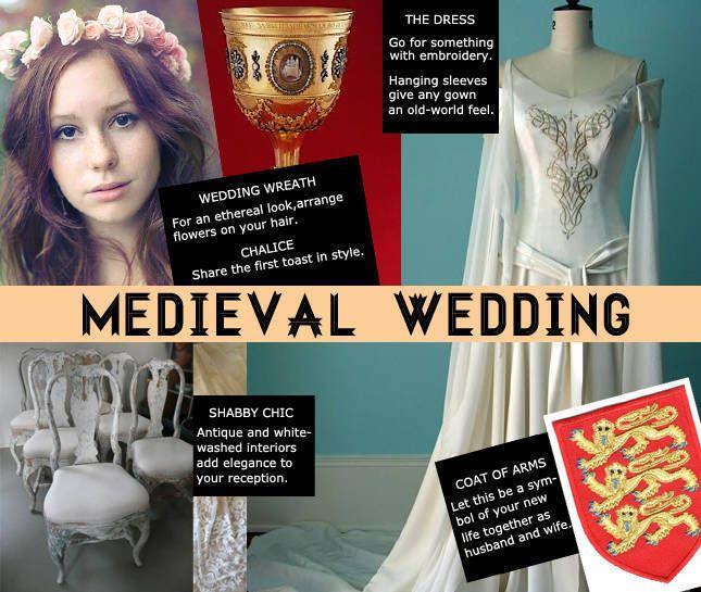 shadownacht medieval wedding ideas