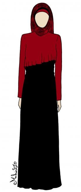 abaya design... I love this and want it!