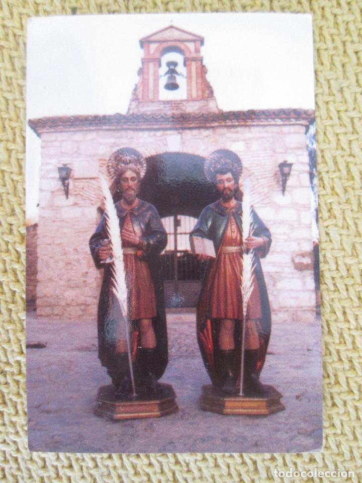 CALENDARIO DE BOLSILLO 2005. RELIGIOSOS. SAN COSME Y SAN DAMIAN TORREDONJIMENOS