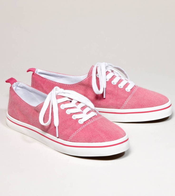 I need some pink sneaks!