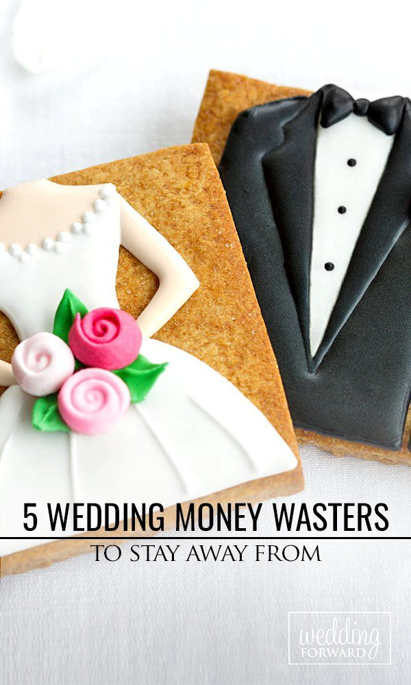 5 Wedding Money Wasters To Say Away From ❤ Finding it difficult to distinguish between the #wedding 'must haves' and things that you can do without? See more: http://www.weddingforward.com/wedding-money-wasters-stay-away/ #weddingplanning #brides
