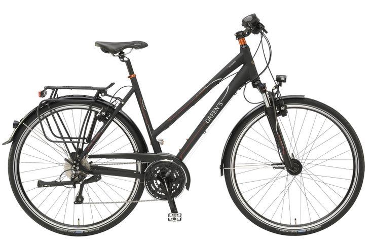 #Greens #Trekkingbike #Colchester #women #black #mat #matt #Shimano #DeoreXT 30 Gang #Fahrrad #30Lux #Kettenradgarnitur #von #Shimano #ShimanoDeoreUmwerfer #Freilauf #Aluminium #Rahmen mehr auf www.greens-bikes.de oder Ihrem #Händler ab 1049,95 €
