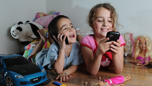 A drastic increase in young children using mobiles to shop online.