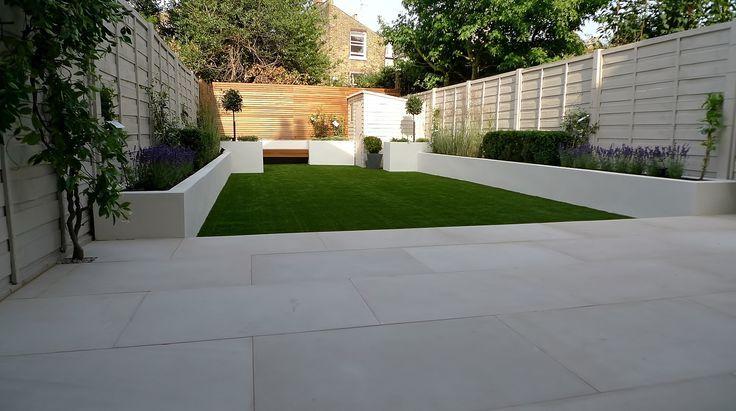 london simple modern back gardens google search london