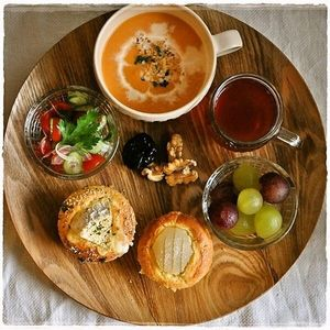 【カフェ風ワンプレート】おしゃれな朝ごはんメニュー♪