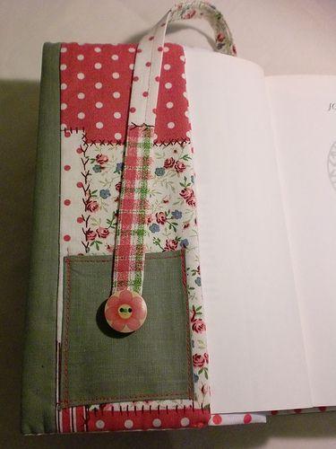 Mimi's - Capa para livro em tecido Mimi's fabric bookcover