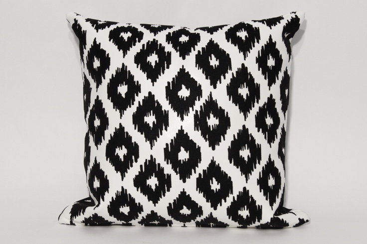 """Tucon Throw Pillow Custom made throw pillow with our """"Tuscon"""" fabric seen in a variety of colour tones. 18'x18' $49.95 each Other sizes and styles available. Made in Canada"""