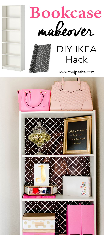 Bookcase Makeover - DIY IKEA Hack