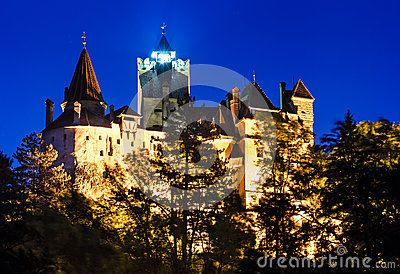 Medieval Bran castle in Romania, Brasov, known for Dracula myth, one of landmarks of Romania (XIVth century). The castle was built on the border beetwen medieval Walachia and Transylvania