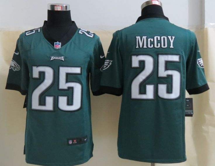 Cheap Wholesale 2014 Regular Season Mens Philadelphia Eagles #25 LeSean McCoy Nike Green Limited Jersey Size S-XXL Instock,Factory Price,Free Shipping,Contact US