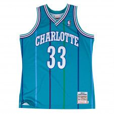 Alonzo Mourning 1992-93 Authentic Jersey Charlotte Hornets