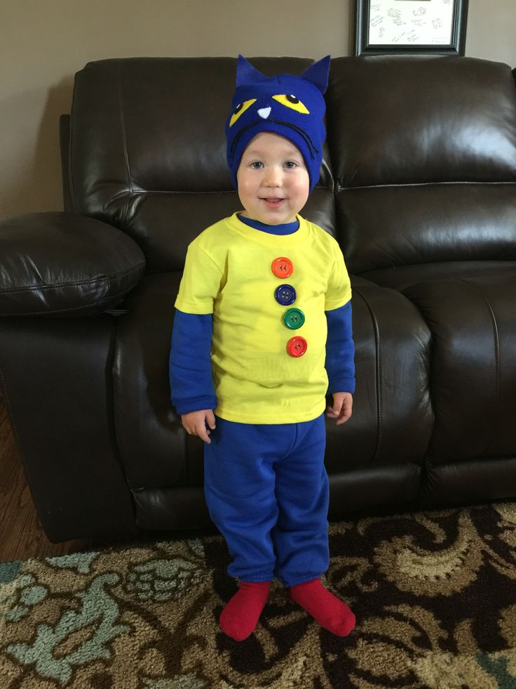 Pete the Cat Halloween Costume for toddler.                                                                                                                                                                                 More
