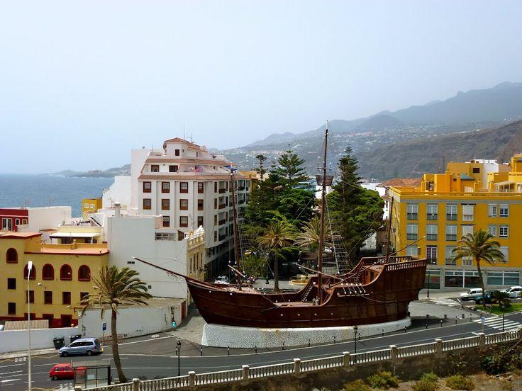 La Palma Santa Cruz Ship Christoffel Columbus Santa Maria.......