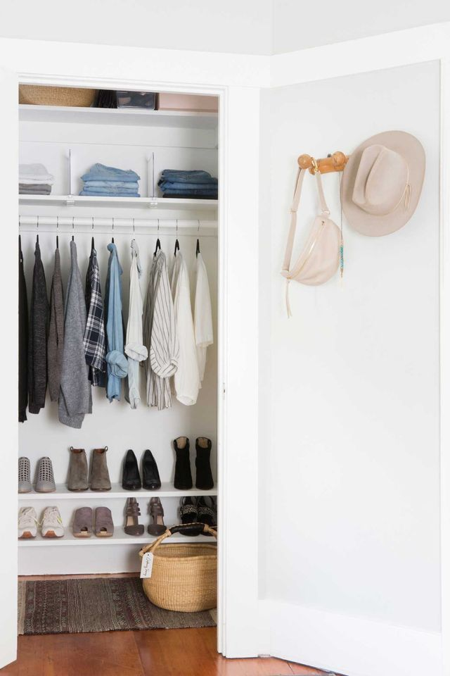 Master Bedroom Closet Organization Apartment Therapy