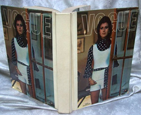 VIntage July1971 VOGUE Sewing Pattern Counter Book COUTURIER