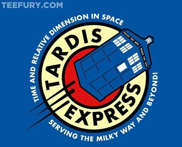 [ Tardis Express ] has just appeared on www.ShirtRater.com! Do you like this shirt? Come and rate it at http://www.shirtrater.com/tardis-express/    #british #doctor who #dr who #Futurama #geek #geeks #planet express #shirt #t shirt #tardis #tees #tv #tv series #tv show