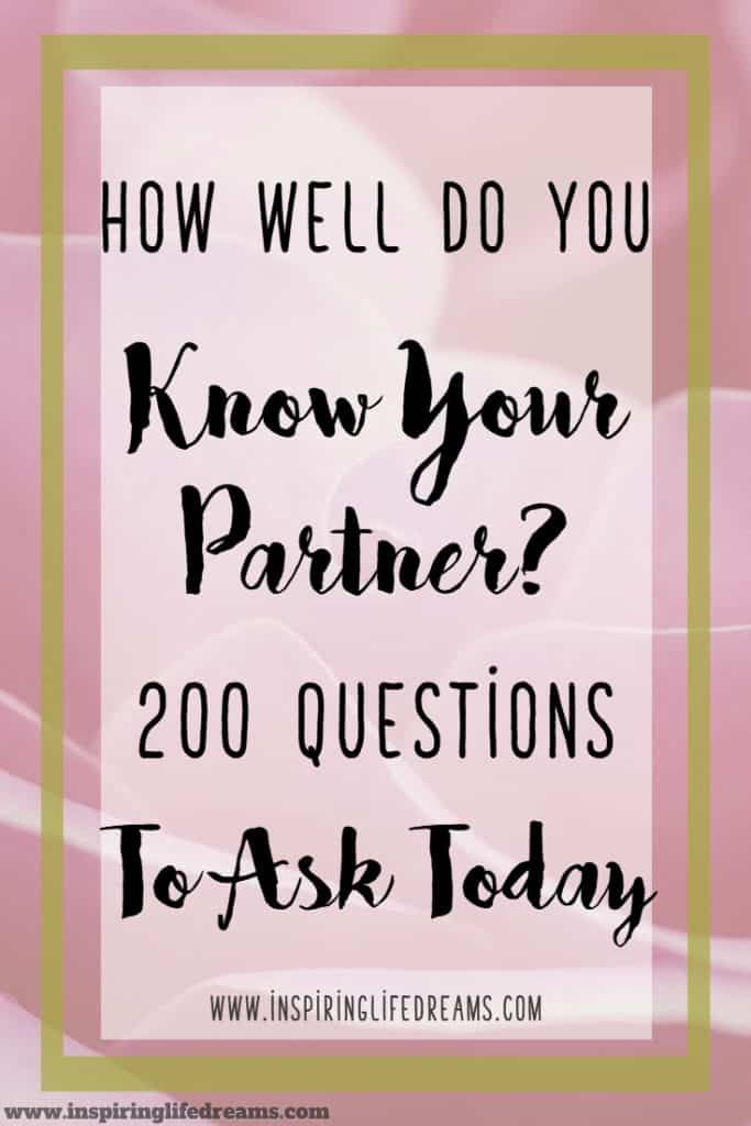 200 Fun Questions To Ask Your Spouse Let The Fun Begin