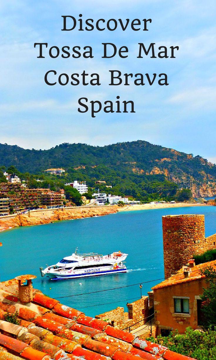 Discover Tossa De Mar on the Coast of Spain.