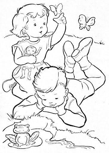 Coloring Book~Blue Boys' Coloring Book - Bonnie Jones - Picasa Web Albums