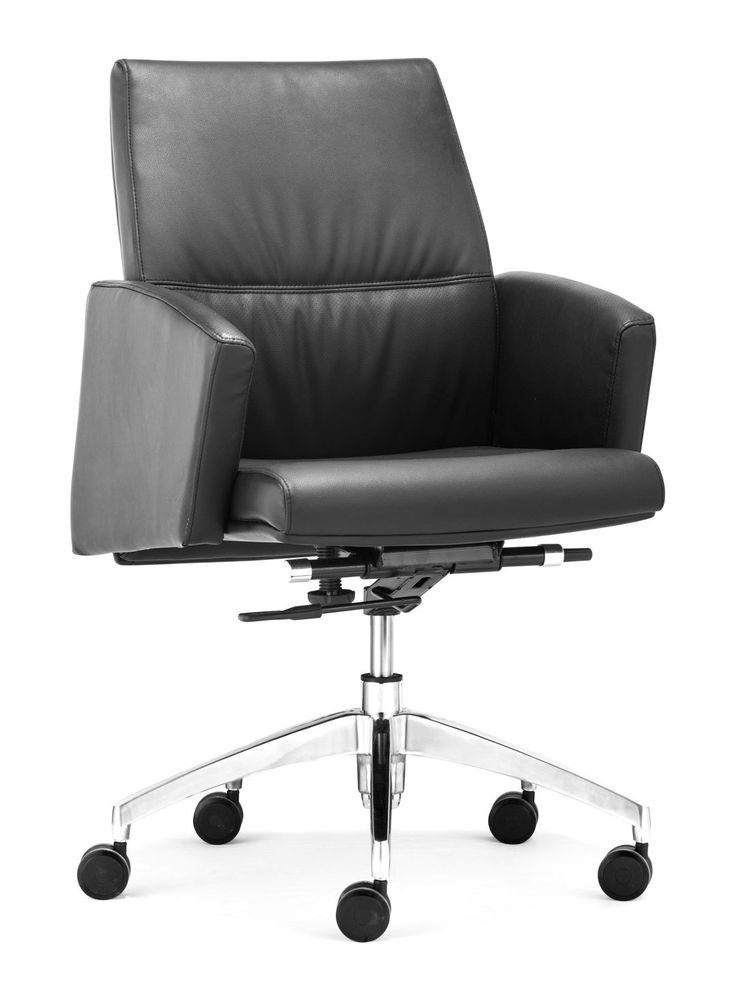Chieftain Low Back Office Chair by Zuo at Gilt