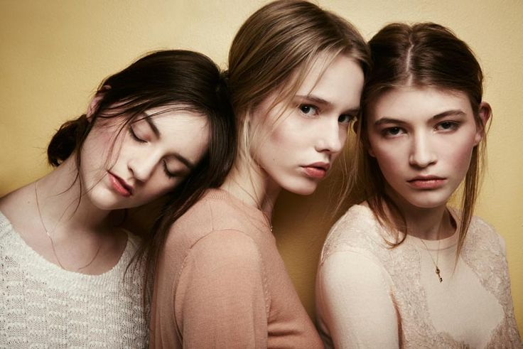 Tess, Sophie & Michelle S by Robert Harper for Playing Fashion April 2012