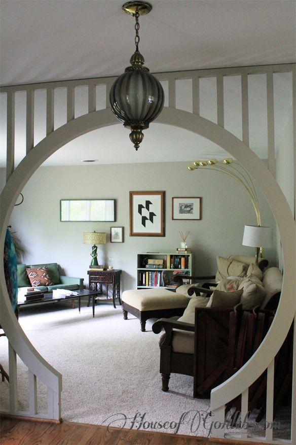 fabulous moroccan boho bohemian entryway -- wall room divider see