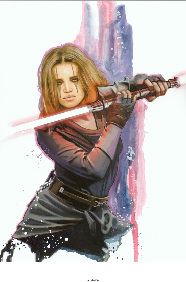 Darth Zannah: Sith Lord (Republic Era Rule of 2) - Art by Brian Rood.  SHE IS ME. I got my fake name Rainah originally from her, who's name was originally Rain in the series. Fun fact xD