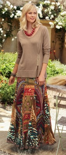 From Soft Surroundings catalog.  Love their clothes!