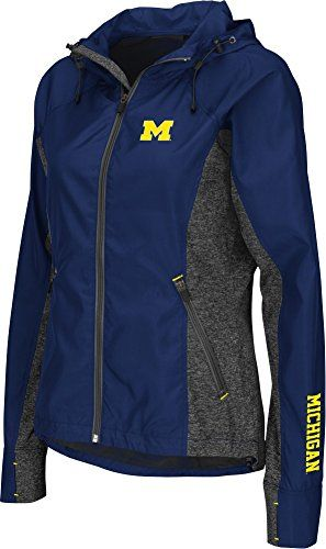 "Michigan Wolverines NCAA Women's ""Corridor"" Full Zip Windbreaker Jacket Colosseum http://www.amazon.com/dp/B014I4MVWS/ref=cm_sw_r_pi_dp_GNllwb1KDHPF5"