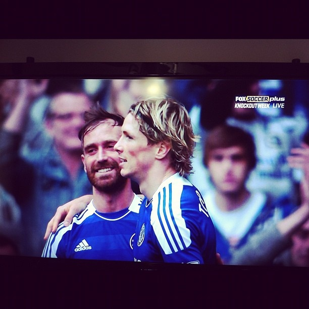 Torres finally breathes, scores 2 assists on 2 vs Leicester in FA Cup. Post goal #1 pic