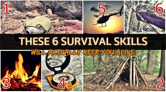 6 Basic Survival Skills That Will Actually Keep You Alive --By Just In Case Jack