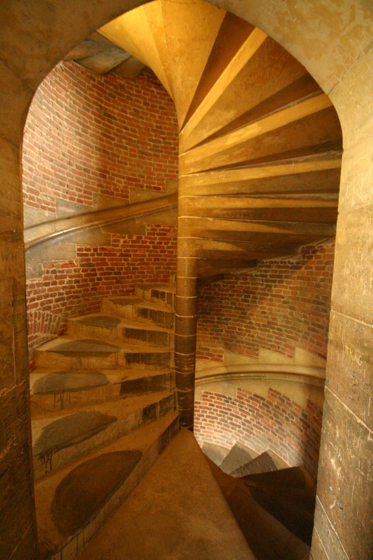 Tattershall Castle - Stair
