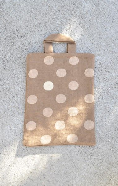 Hansel From Basel Polka Dot Tote from Anaise via The Third Row