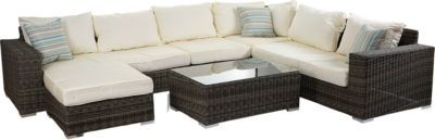 heute-wohnen Luxus Poly-Rattan Sofa-Garnitur Melilla, Lounge-Set Gartengarnitur, Alu-Gestell Jetzt bestellen unter: https://moebel.ladendirekt.de/garten/gartenmoebel/loungemoebel-garten/?uid=285ac172-7788-5881-86a0-6867a55e06d2&utm_source=pinterest&utm_medium=pin&utm_campaign=boards #loungemoebelgarten #garten #gartenmoebel