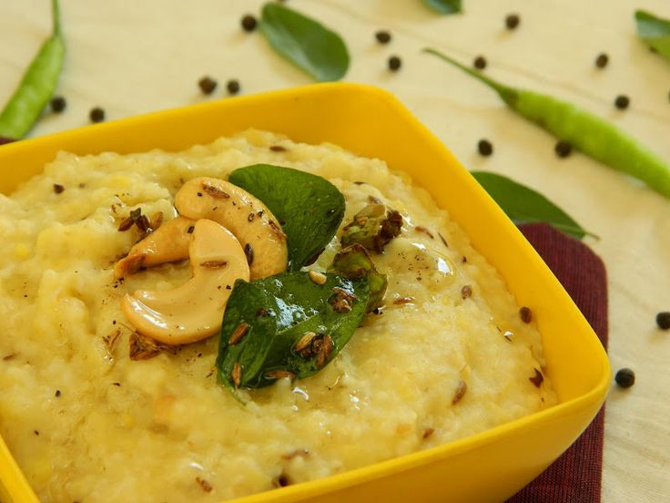 Broken Wheat Pongal Recipe | Indian Cuisine