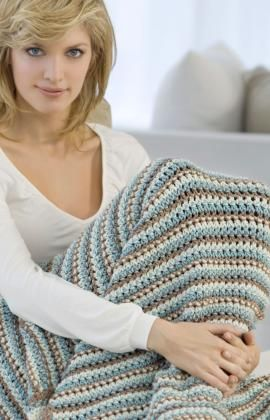 free pattern-I am crocheting this blanket right now and I LOVE this stitch!