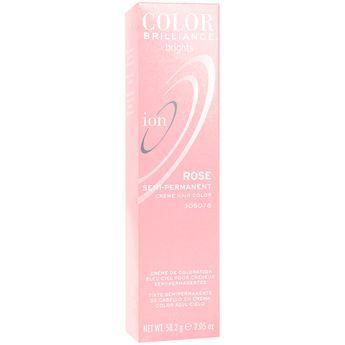 Ion Color Brilliance Brights Semi-Permanent Hair Color Rose
