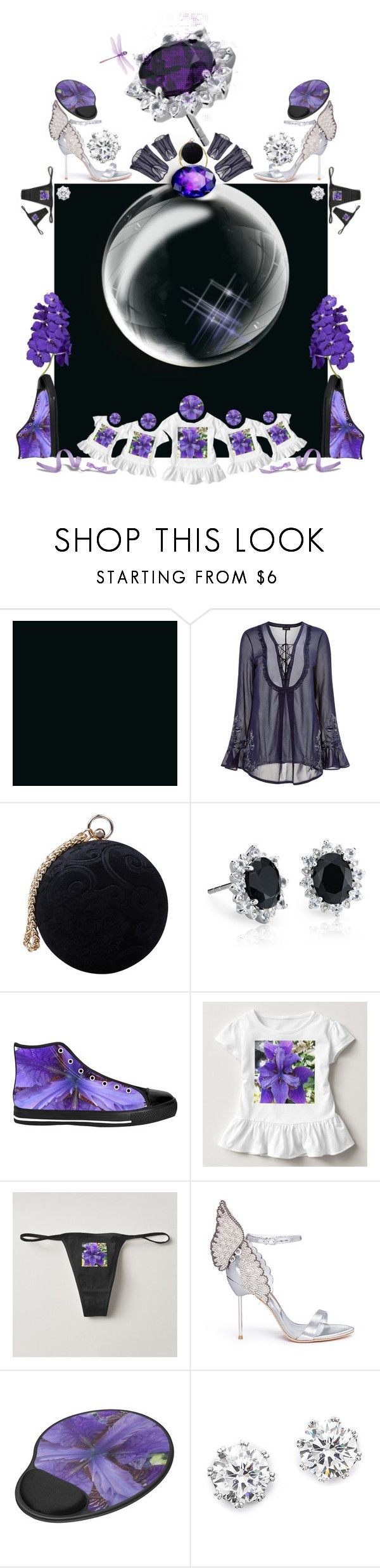 """""""Diary of a Loaded Idea."""" by gayeelise ❤ liked on Polyvore featuring La Perla, Carvela, Blue Nile, Sophia Webster and Kenneth Jay Lane"""